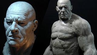 Escultura de um bárbaro(parte 1)