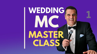 Wedding MC Masterclass From Beginners To Professional Part 1