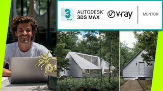 Exterior 3D Rendering with 3ds Max + V-Ray :The Quickest Way