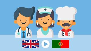 PROFESSIONS | European Portuguese Vocabulary - Course 2