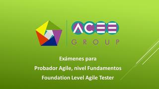 Exámenes de práctica en Agile Tester - ISTQB